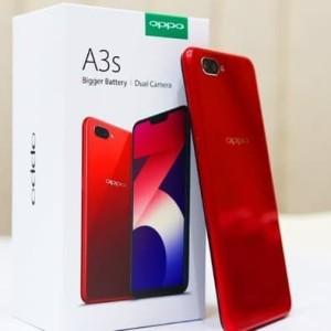 Oppo A3s Red Ram 2gb Internal 16gb Tokopedia