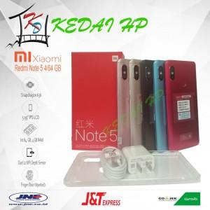 Xiaomi Redmi Note 5 Pro Blue Ram 3gb Internal 32gb Garansi Distri 1thn Tokopedia