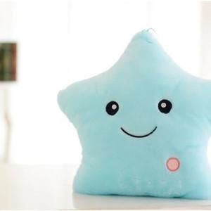 Jual Bantal Plush Bentuk Bintang Dengan Lampu LED Menyala 5 Warna 4087c7d520