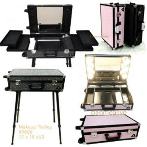 Dijual Beauty Case Tempat Makeup Kotak Kosmetik 005 Hitam Murah Tokopedia