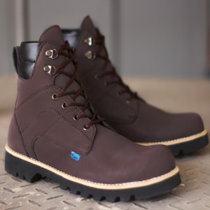 Sepatu Pria Kickers Boots Safety Hitam Tokopedia