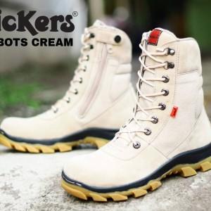 Sepatu Boots Pria Kickers Suede Tokopedia