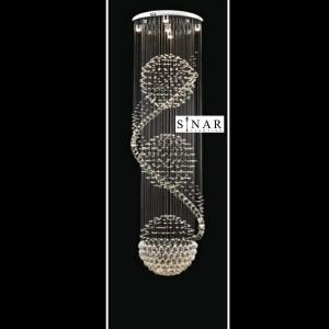 lampu hias kristal senar 818 -45