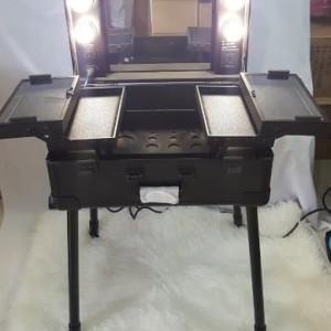 Ready Stock Beauty Case Tempat Makeup Kotak Kosmetik 1401 Putih Tokopedia