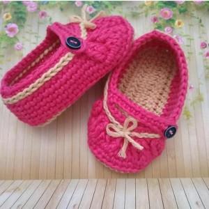 Preorder Sepatu Bayi Rajut Spesial Uk 6 12 Bulan Tokopedia