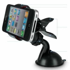 Mini Rotate Car Phone Holder Clip Capit Handphone Smartphone Hp Rotasi Tokopedia