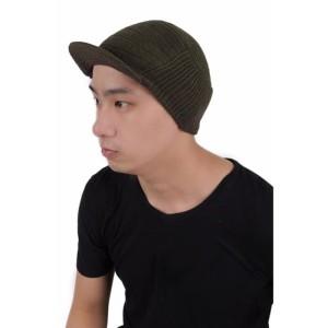 Jual Topi Kupluk Rajut knit / topi pilot / topi nyaman / topi bagus - Hitam