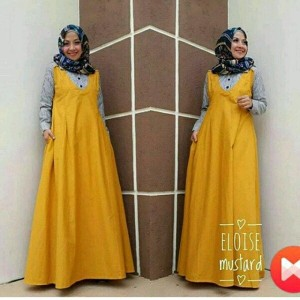 Gamis Jumbo Riri Dress Ukuran Besar Warna Cerah Yang Elegan Cocok Untuk Jalan Jalan Dan Ngantor Harga Murmer Tokopedia