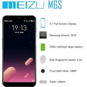 Meizu M6s 3gb 64gb Garansi Resmi 1 Tahun Tokopedia