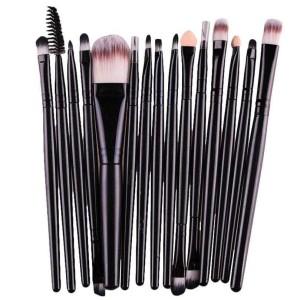 Kosmetik Brush Make Up 15 Set Kuas Makeup Tokopedia