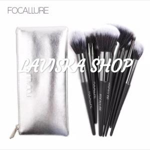 Focallure Brush set 10 pcs + pouch original