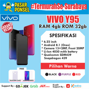 Hp Vivo Y95 4 32gb Tokopedia