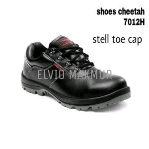 Sepatu Safety Merk Cheetah 7012 Hitam Original Cheetah Tokopedia