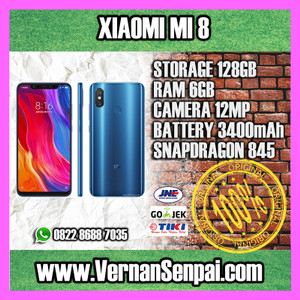 Xiaomi Mi 8 Xiaomi Mi8 64gb Ram 6gb New Bnib Original Tokopedia