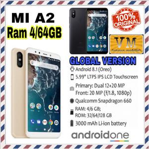 Xiaomi Mi A2 Mia2 4gb 64gb Androidone New Bnib Original Tokopedia