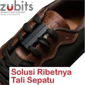 Zubits Magnet Tali Sepatu Size 2 Biru Tokopedia