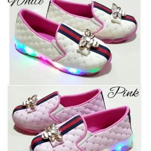 Sepatu Anak Perempuan Karenina Led Tokopedia