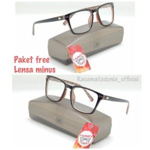Jual paket FREE lensa minus - frame kacamata pria wanita fashion lacoste 355cb5613b