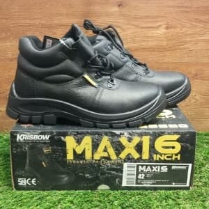 Safety Shoes Krisbow Maxi 6 Inch Tokopedia
