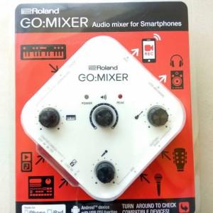 Roland Gomixer Go Mixer Mixer Audio Smartphone Tokopedia