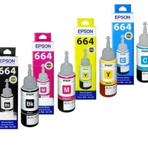 Tinta Epson T664 ORIGINAL