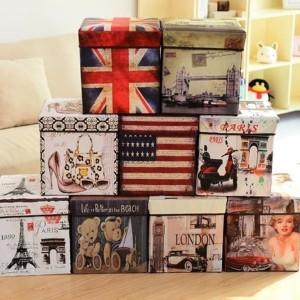 Ao Storage Box Kotak Tempat Kosmetik Simpan Mainan Majalah Kursi Organizer Hhm444 Code94 Tokopedia