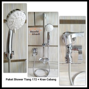 Harga Hemat Shower Tiang Shower Tiang Paket Kran Cabang Tokopedia