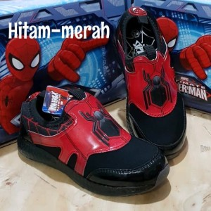 Sepatu Spiderman Slip On Biggest Spidey Tokopedia