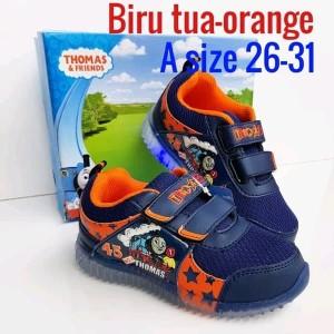 Sepatu Thomas Lampu Banjiro T Sepatu Anak Laki Sepatu Sekolah Anak Tokopedia