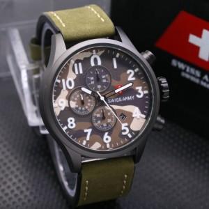 Jam Tangan Swiss Army Loreng Al Ad Au Tokopedia