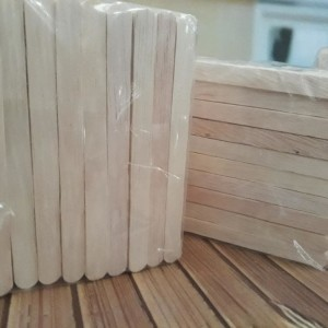 Jual Stik Es Krim kayu / Stick Ice Cream Kerajinan Tangan Grade B 500 Buah