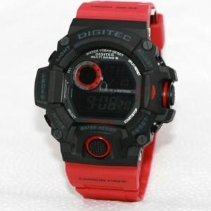 Jam Tangan Digitec Dg 2064t Black Original Tokopedia