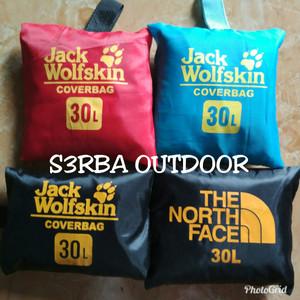 Cover Bag / Rain Cover / Jas Hujan Tas 30L