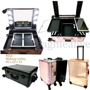 Koper Makeup Beauty Case Makeup Kotak Rias Tas Kosmetik Box Kec Tokopedia