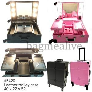 Jual Beauty Case Tempat Makeup Kotak Kosmetik 2356 Putih Limited Tokopedia