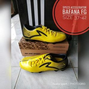 Sepatu Bola Specs Bafana Fg Lemon Tokopedia