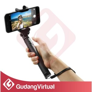 Selfie Stick Monopod Tongsis For Hp Handphone Android Ios Iphone Samsung Xiaomi Tokopedia