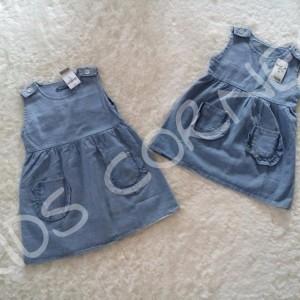 Overall Dress Anak Soft Jeans Oshkosh Baju Anak Tokopedia