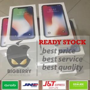 Promo Iphone X 256gb Gray Silver Bnib Bonus Tempered Glass Dan Soft Case Garansi Apple 1 Tahun Tokopedia