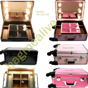 Unik Beauty Case Tempat Makeup Kotak Kosmetik 004 Merah Limited Tokopedia