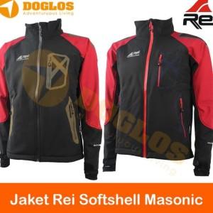 Jual Jaket Rei Softshell Masonic Polar Gunung Hiking Travelling Outdoor 7598157157