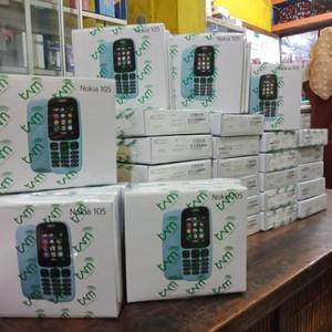 Nokia 105 Dual Sim Garansi Resmi Tam 1 Tahun Tokopedia