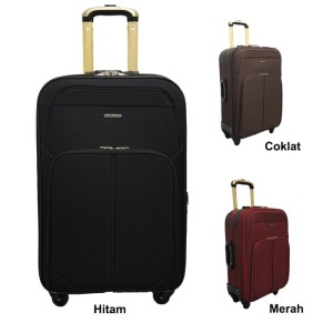 Navy Club Tas Koper Hardcase Fiber PP 4 Roda Resleting Anti Tusuk Kunci . Source ·