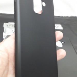 Samsung A8 Plus 2018 Black Tokopedia
