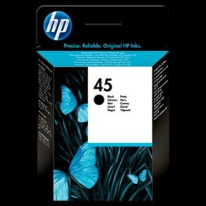 Hp 45 Black Tokopedia