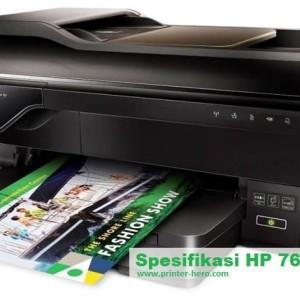 Printer Hp 7612 A3 Print Scan Copy Wifi Tokopedia