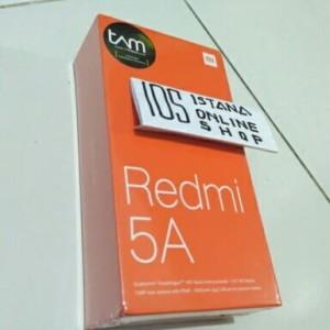 Xiaomi Redmi 5a Ram 2 Rom 16 Garansi Resmi Tam Tokopedia