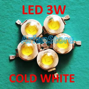LED 1 Watt Cool White 20 000 k Komponen Elektronik Elektronik Source · HPL 3 Watt