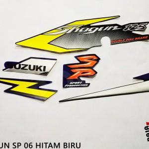 Jual List body polet striping sticker motor SHOGUN SP 2006