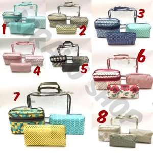 Tas Kosmetik 4 In 1 Beauty Case Kosmetik Organizer Tas Travel Tokopedia